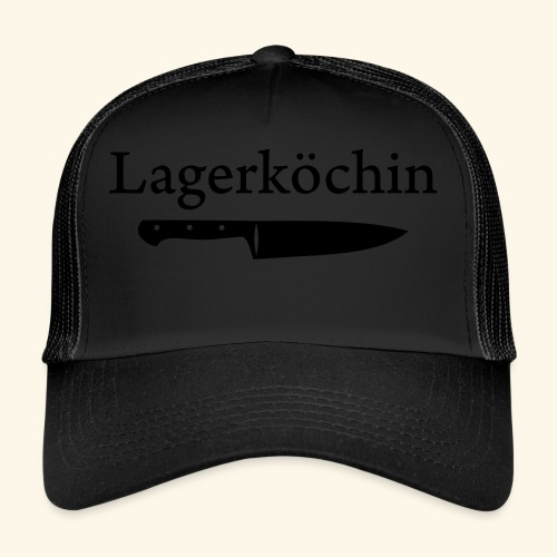 Lagerköchin, Messer - Mädls - Trucker Cap