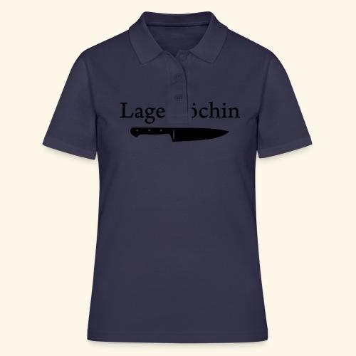Lagerköchin, Messer - Mädls - Frauen Polo Shirt