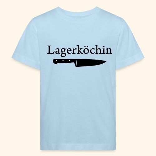 Lagerköchin, Messer - Mädls - Kinder Bio-T-Shirt
