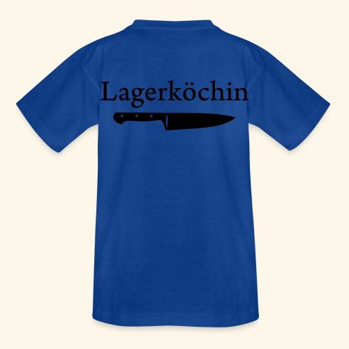 Lagerköchin, Messer - Mädls - Kinder T-Shirt