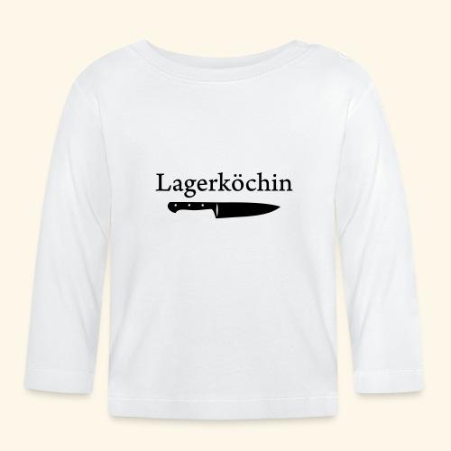 Lagerköchin, Messer - Mädls - Baby Langarmshirt