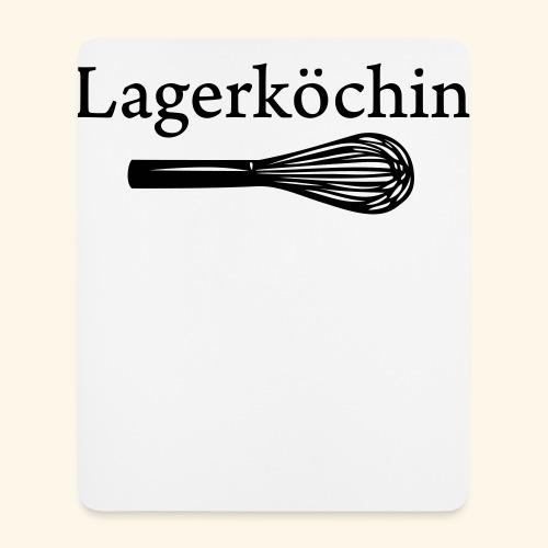Lagerköchin, Schneebesen - Mädls - Mousepad (Hochformat)
