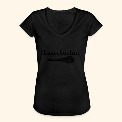Lagerköchin, Schneebesen - Mädls - Frauen Vintage T-Shirt