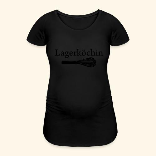 Lagerköchin, Schneebesen - Mädls - Frauen Schwangerschafts-T-Shirt