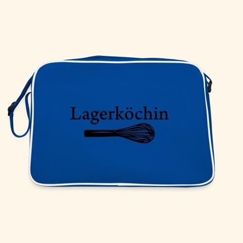 Lagerköchin, Schneebesen - Mädls - Retro Tasche