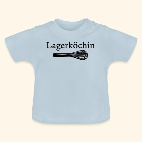 Lagerköchin, Schneebesen - Mädls - Baby T-Shirt
