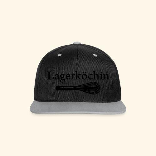 Lagerköchin, Schneebesen - Mädls - Kontrast Snapback Cap