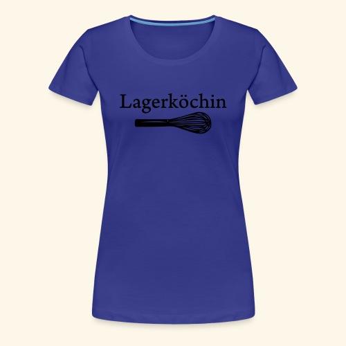 Lagerköchin, Schneebesen - Mädls - Frauen Premium T-Shirt