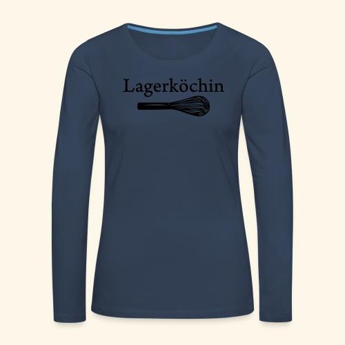 Lagerköchin, Schneebesen - Mädls - Frauen Premium Langarmshirt