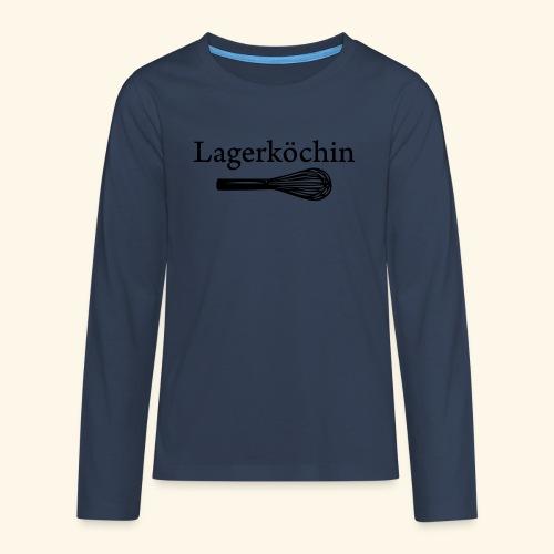 Lagerköchin, Schneebesen - Mädls - Teenager Premium Langarmshirt