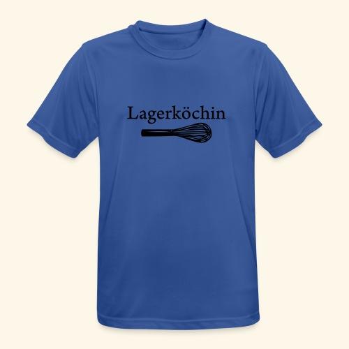 Lagerköchin, Schneebesen - Mädls - Männer T-Shirt atmungsaktiv
