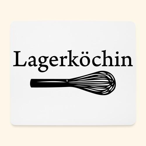Lagerköchin, Schneebesen - Mädls - Mousepad (Querformat)