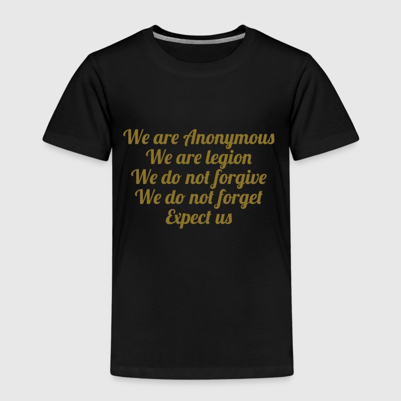 Anonymous Shirts - Kinderen Premium T-shirt