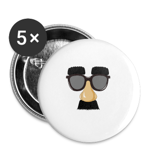Comedy Islam - Buttons groß 56 mm