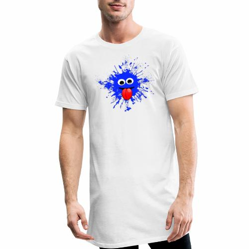 Splash T-Shirt - Männer Urban Longshirt
