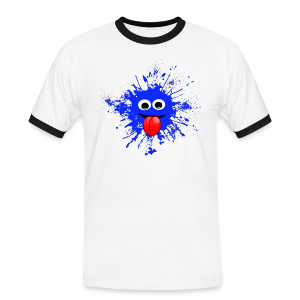Splash T-Shirt - Männer Kontrast-T-Shirt