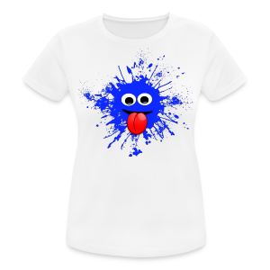 Splash T-Shirt - Frauen T-Shirt atmungsaktiv