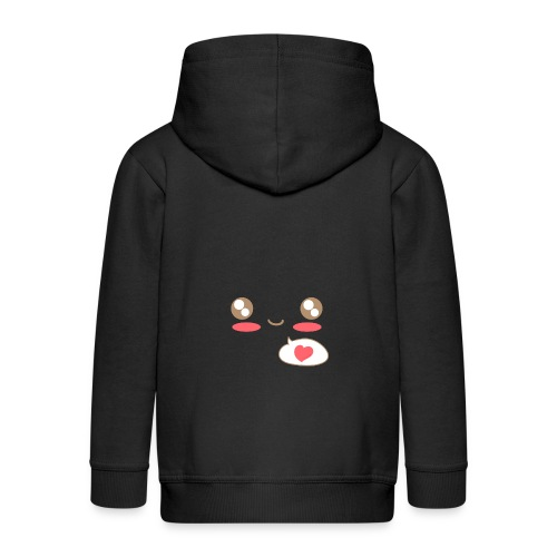 Baby Shirt: Love Kawaii - Kids' Premium Zip Hoodie