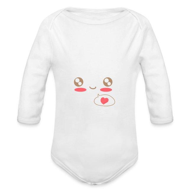 Baby Shirt: Love Kawaii