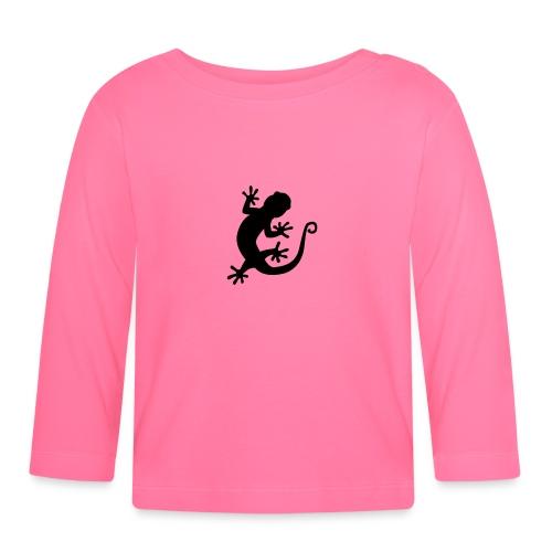 Rock Loving Gecko - Baby Long Sleeve T-Shirt