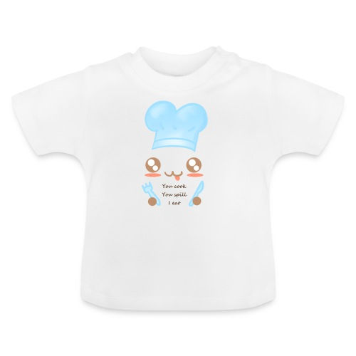 Apron: You spill, I eat - Baby T-Shirt