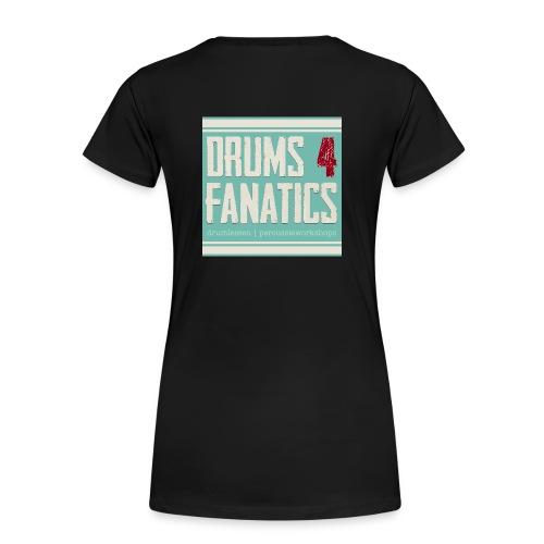 Stoere hoodie voor drummers! Kids sizes! (Kies zelf je kleur) - Vrouwen Premium T-shirt