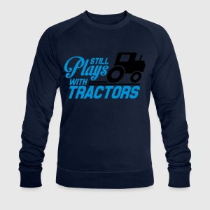 Still plays with tractors T-Shirts - Men's Sweatshirt by Stanley & Stella