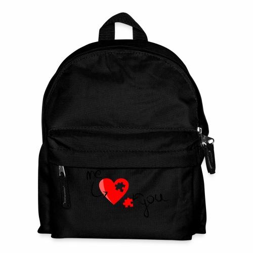 Liebe und Herzpuzzel - Kinder Rucksack