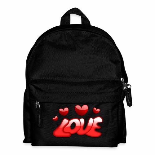 Liebe und Herzen - Kinder Rucksack