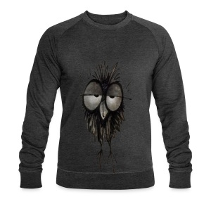 Funny Sleepy Stoned Owl - Men's Sweatshirt by Stanley & Stella