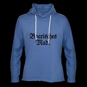 Boarisches Madl Babybody (Pink/Weiß) - Leichtes Kapuzensweatshirt Unisex