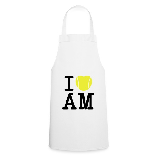 I Heart Andy Murray - Ladies White T - Cooking Apron