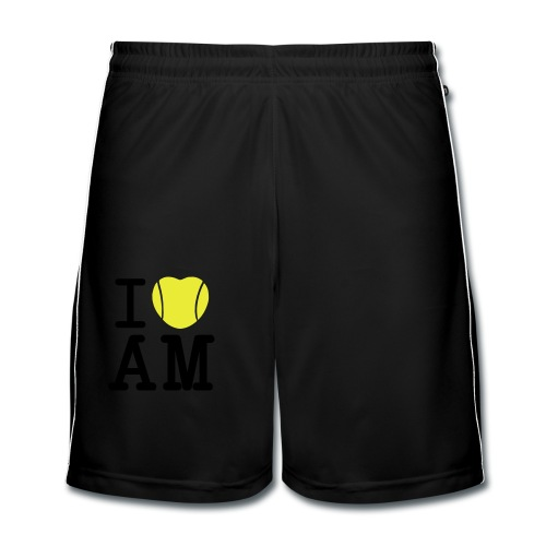 I Heart Andy Murray - Ladies White T - Men's Football shorts