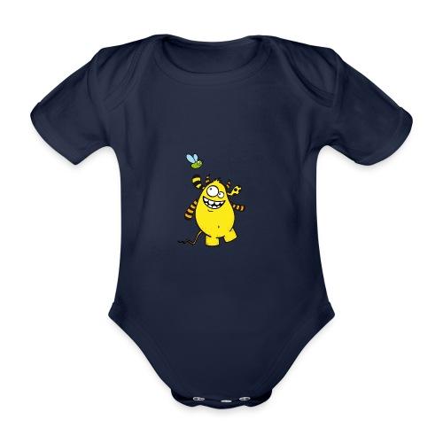 Mr Woolly Basic - Baby Bio-Kurzarm-Body
