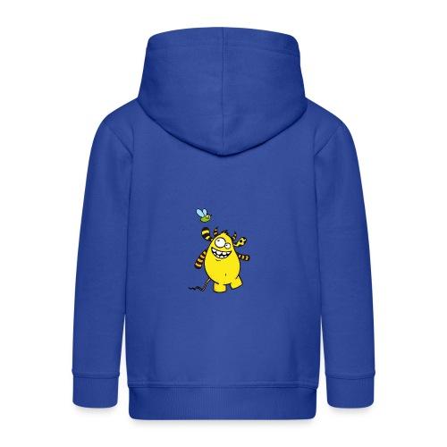 Mr Woolly Basic - Kinder Premium Kapuzenjacke