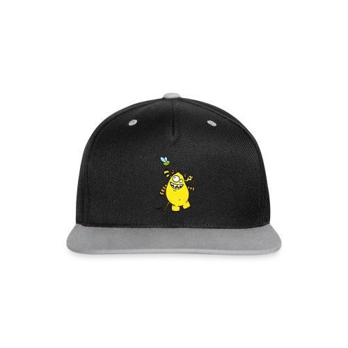 Mr Woolly Basic - Kontrast Snapback Cap