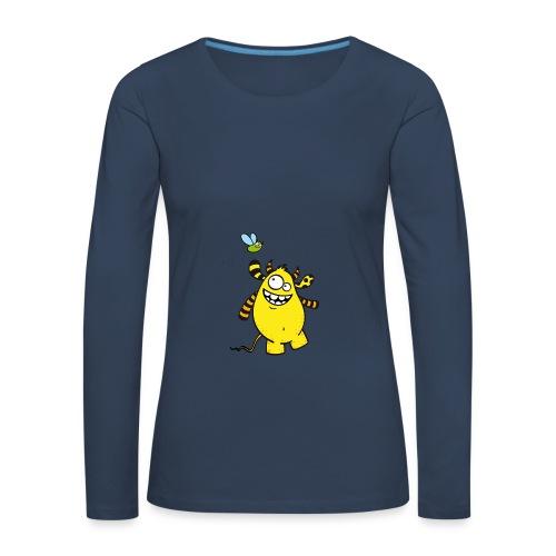 Mr Woolly Basic - Frauen Premium Langarmshirt
