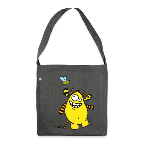 Mr Woolly Basic - Schultertasche aus Recycling-Material