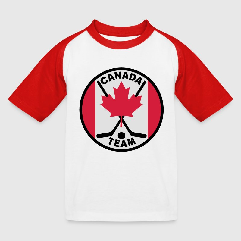 hockey canada team - T-shirt baseball Enfant