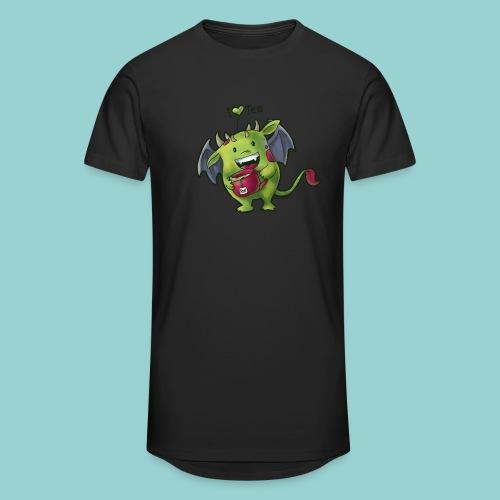 I love tee - Männer Urban Longshirt