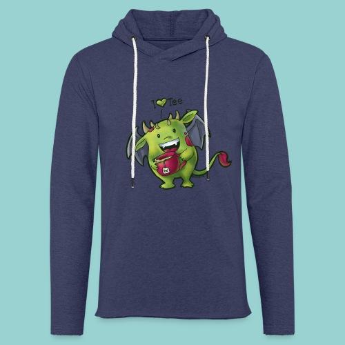 I love tee - Leichtes Kapuzensweatshirt Unisex