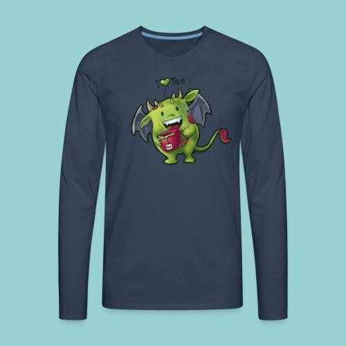 I love tee - Männer Premium Langarmshirt