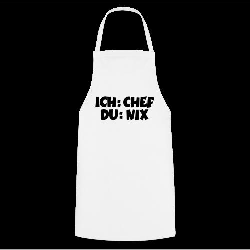 Chef T-Shirt (Weiß) - Kochschürze