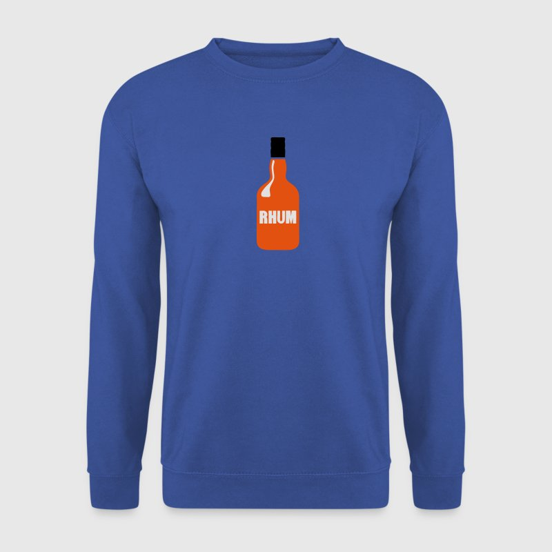bouteille rhum alcool 1512 Sweat-shirts - Sweat-shirt Homme