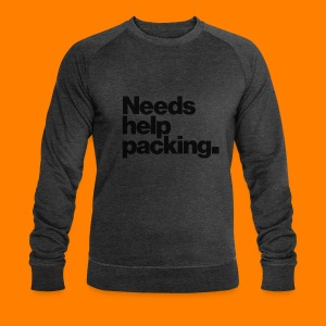 Needs help packing tee shirt - Men's Organic Sweatshirt by Stanley & Stella