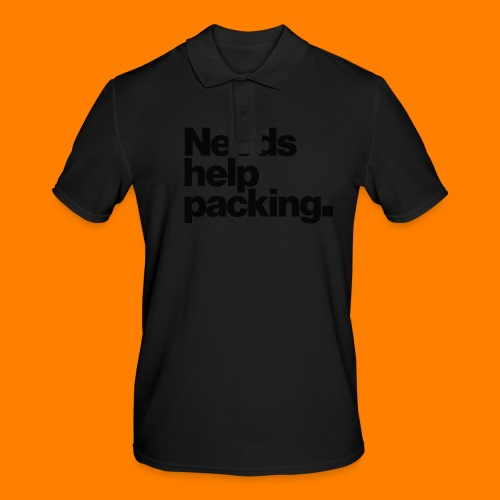Needs help packing tee shirt - Men's Polo Shirt
