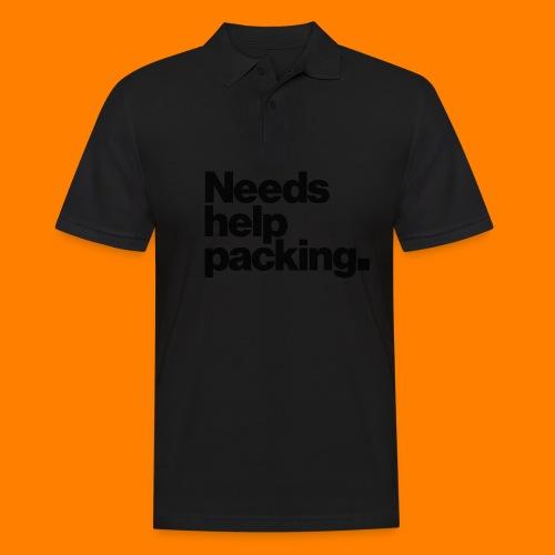 Needs help packing tee shirt - Men's Polo Shirt