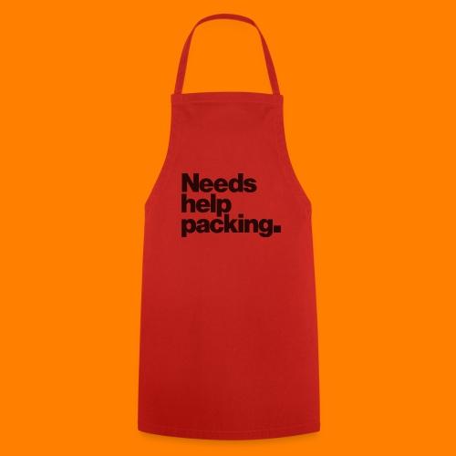 Needs help packing tee shirt - Cooking Apron