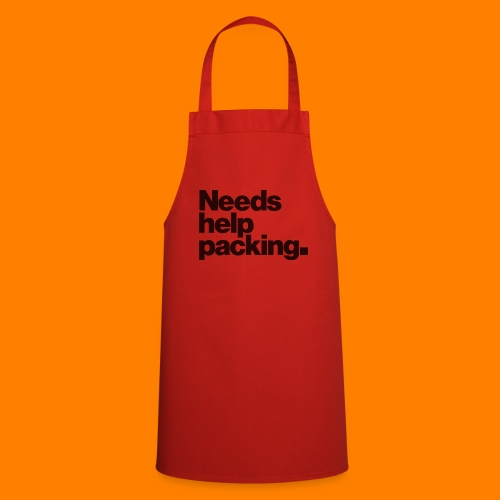 Needs help packing tee shirt - Cooking Apron