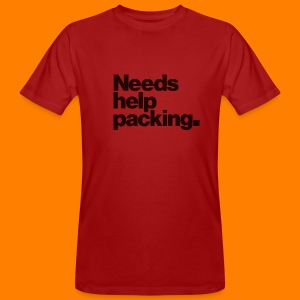 Needs help packing tee shirt - Men's Organic T-shirt